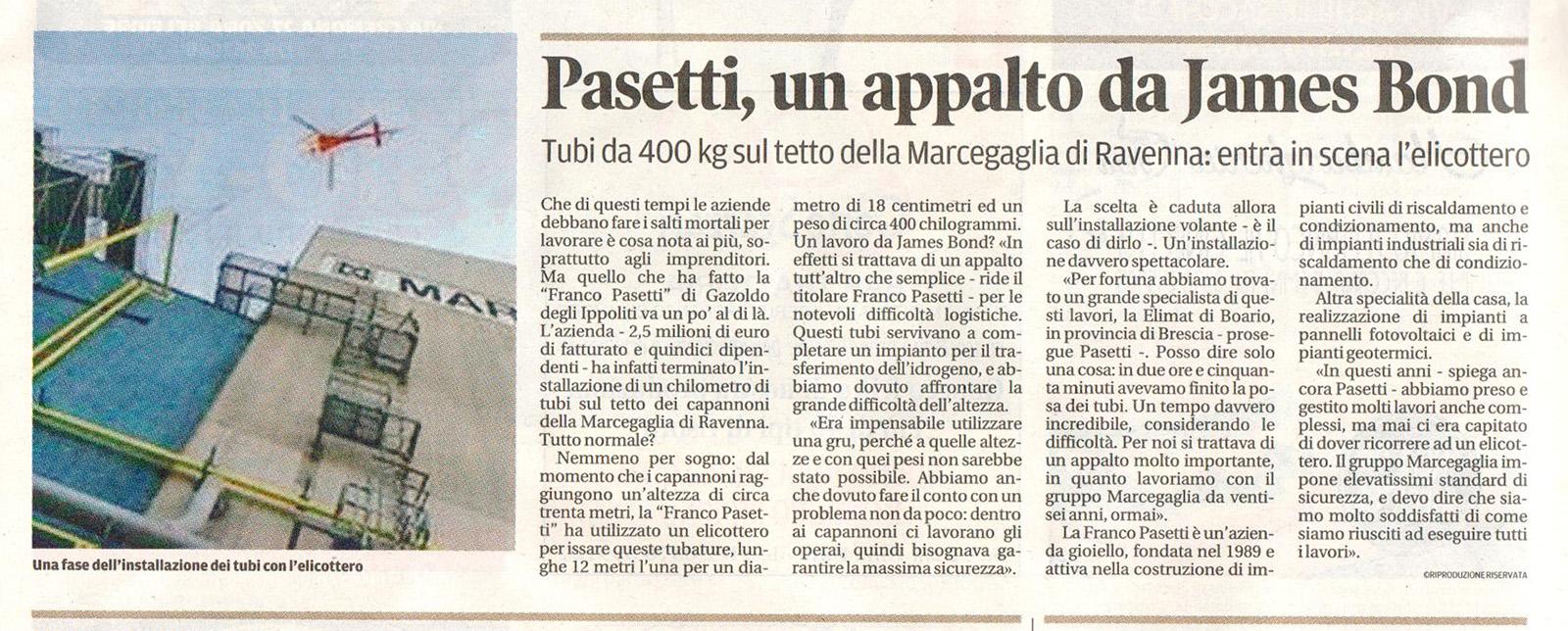 Articolo Gazzetta di Mantova 27 10 15